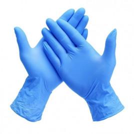 Manusi albastre pentru examinare din nitril nepudrate x 100 de bucati