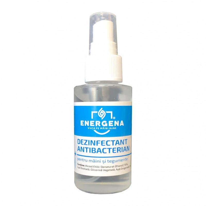 Igienizant Spray Antibacterian pentru maini ENERGENA x 100ml
