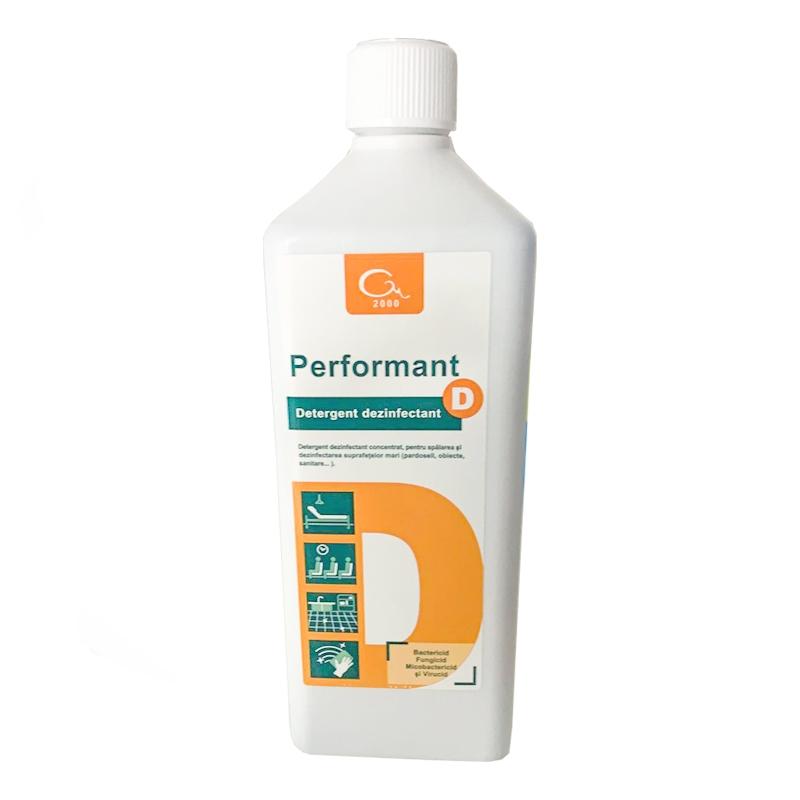 Detergent dezinfectant pentru suprafete Performant D CONCENTRAT x 1L