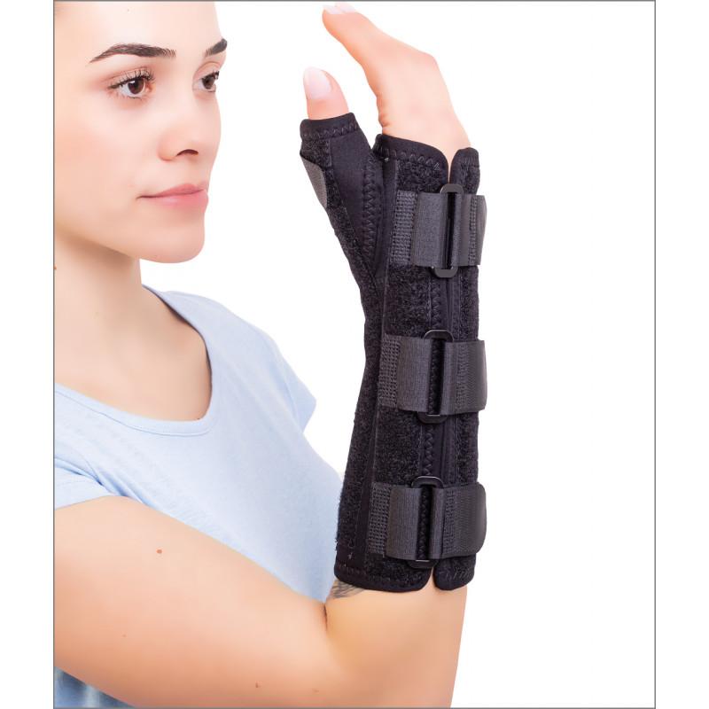 Orteză de încheietura mâinii mână deget fixă - CARPOFIX M FINGER