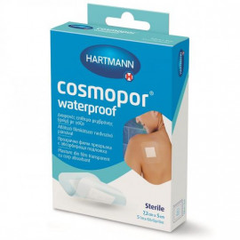 Plasturi sterili Cosmopor Waterproof 7,2 x 5 cm x 5 bucati - Hartmann