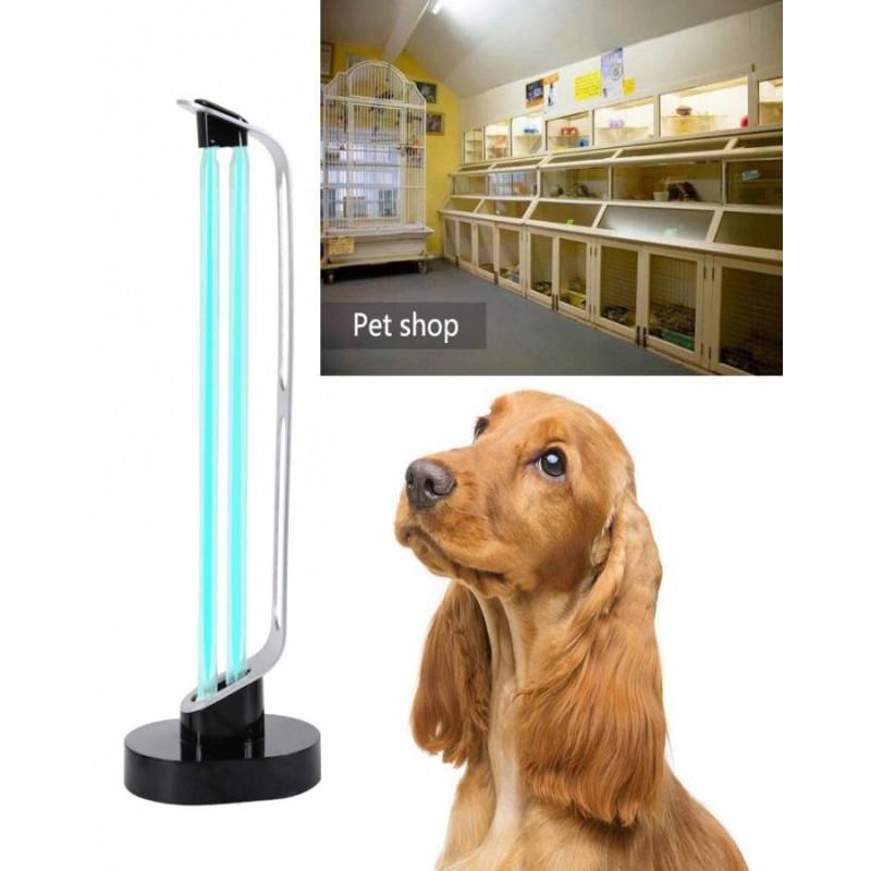 Lampa UVC 38W (60 MP) cu telecomanda si senzor de miscare