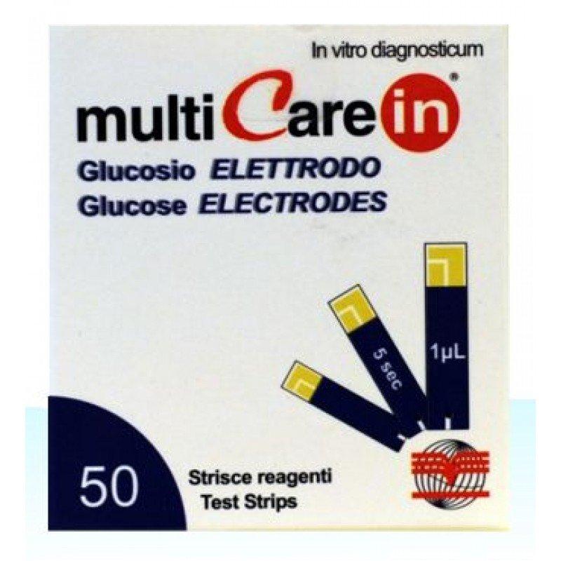 Teste Glicemie Multi Care In