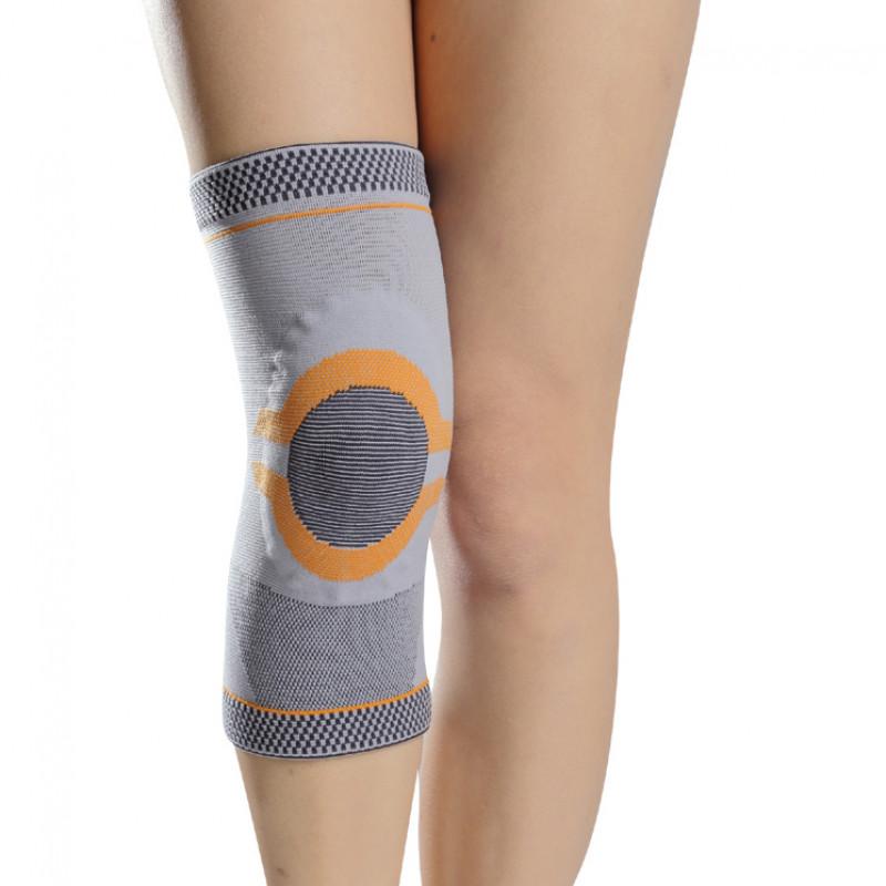 Orteza de genunchi din material textil cu insertie de silicon - GMED