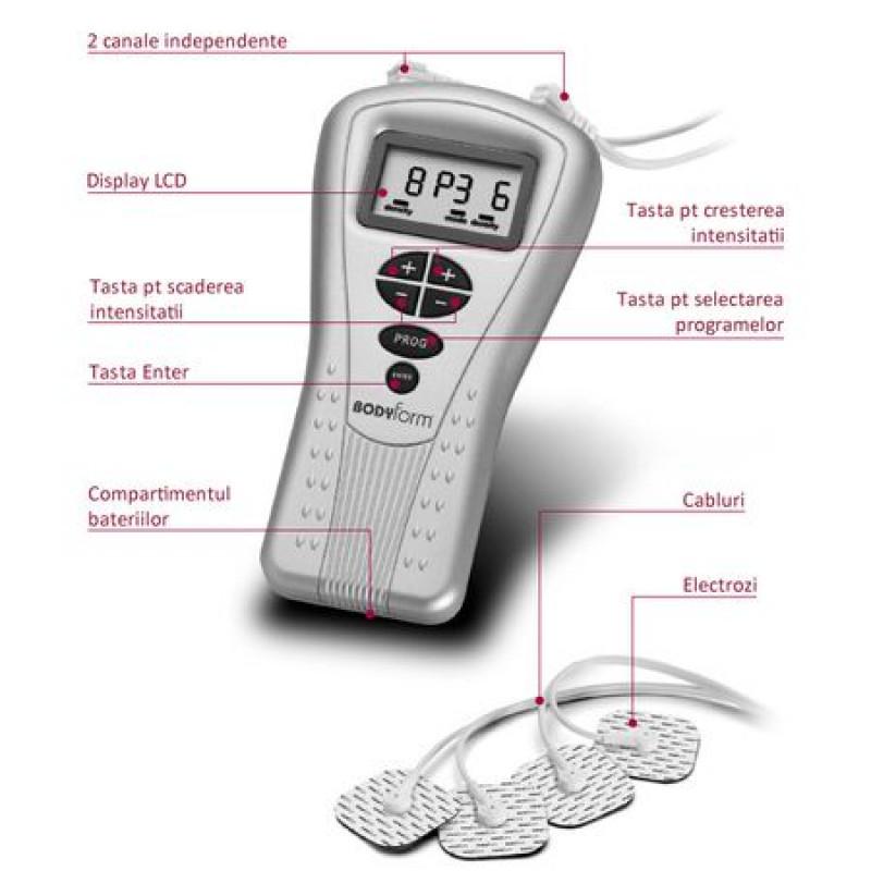 Aparat de masaj cu 8 electrozi -  LAICA Bodyform BM4700