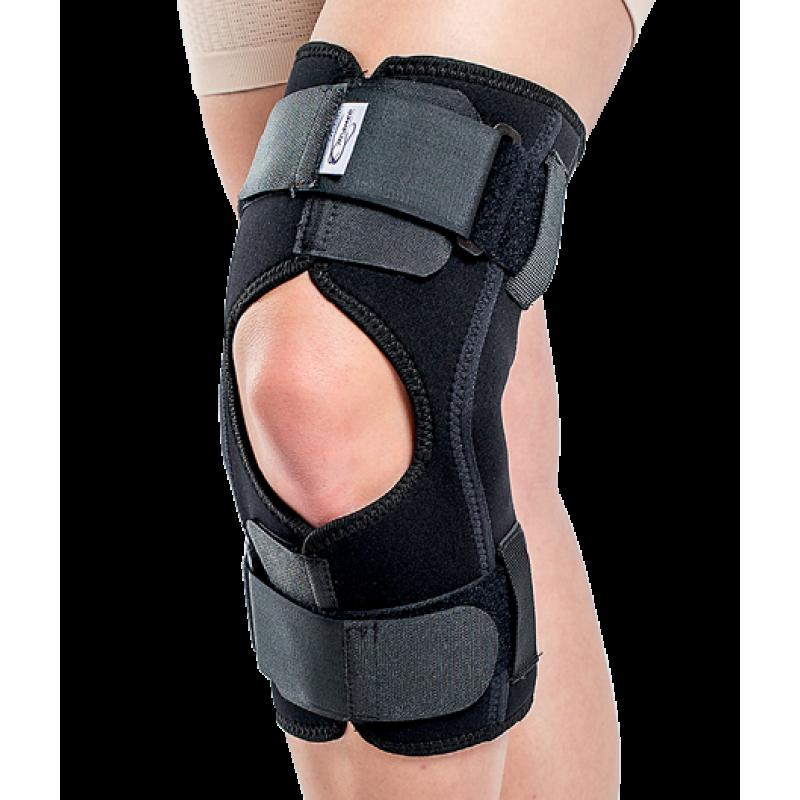 Orteza de genunchi moibla cu articulatii laterale - TRIAGEN