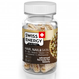 Hair, Nail & Skin x 30cps - SWISS ENERGY