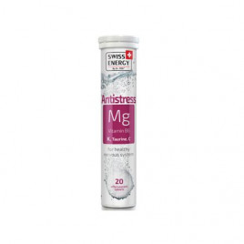 Antistress x 20 Tablete Efervescente Cu Magneziu Si Vitamina C - SWISS ENERGY
