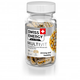 Multivit x 30cps - SWISS ENERGY