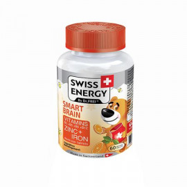 Tablete Smart Brain Zinc, Vitamine X 60 buc - Swiss Energy