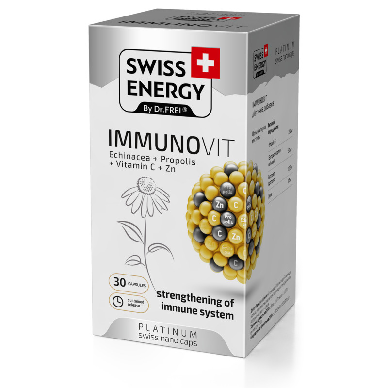 Immunovit x 30cps - SWISS ENERGY