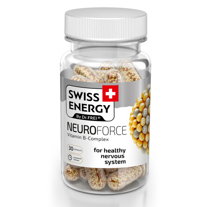 Neuroforce x 30cps - SWISS ENERGY