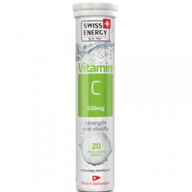 Vitamin C 550 x 20 Tablete Efervescente - SWISS ENERGY