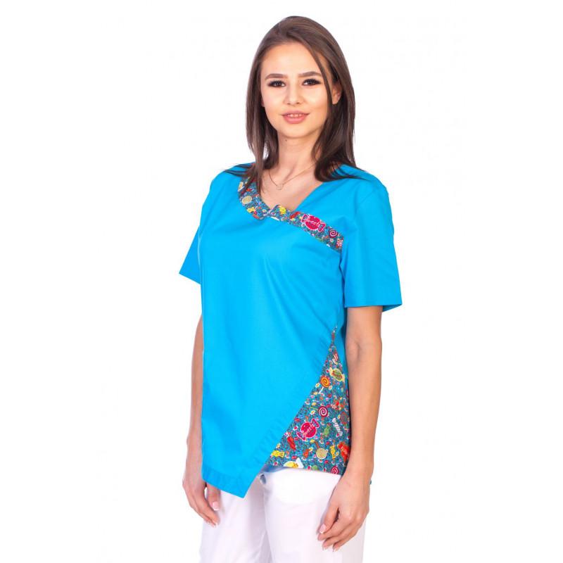 Bluza Imprimata - Candy by the Ocean Fashion Stretch
