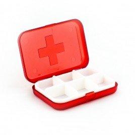 Cutie medicatie 6 compartimente