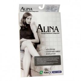 Ciorapi compresivi pana pe coapsa 15-20 mmHg - Alina
