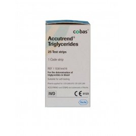 Teste trigliceride - Accutrend Triglycerides