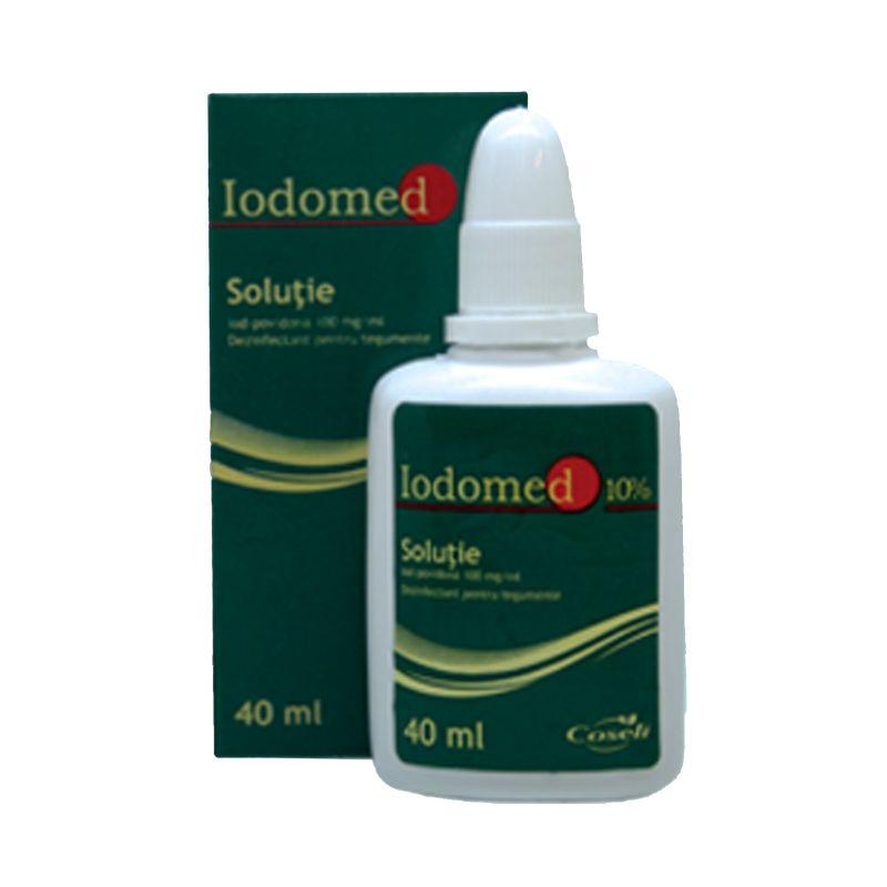 Dezinfectant tegumente-Iodomed 10%-40 ml