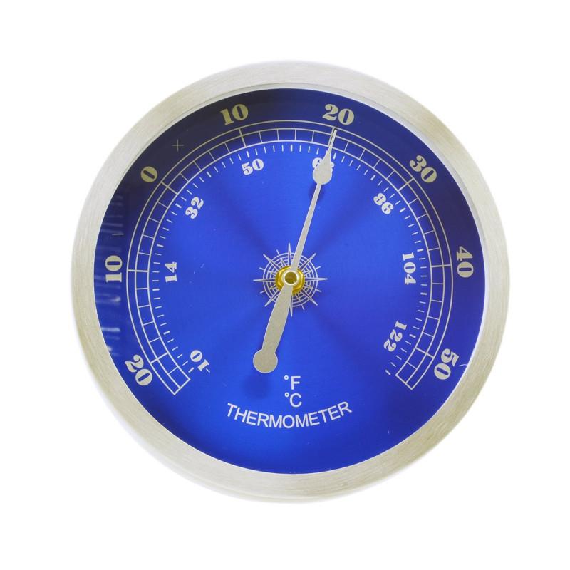 Termometru de perete -  inox