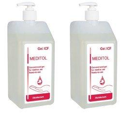 Dezinfectant gel pentru maini - Meditol ICF X 1L